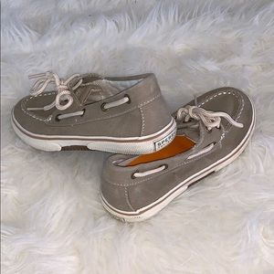 Speery boys boat shoes